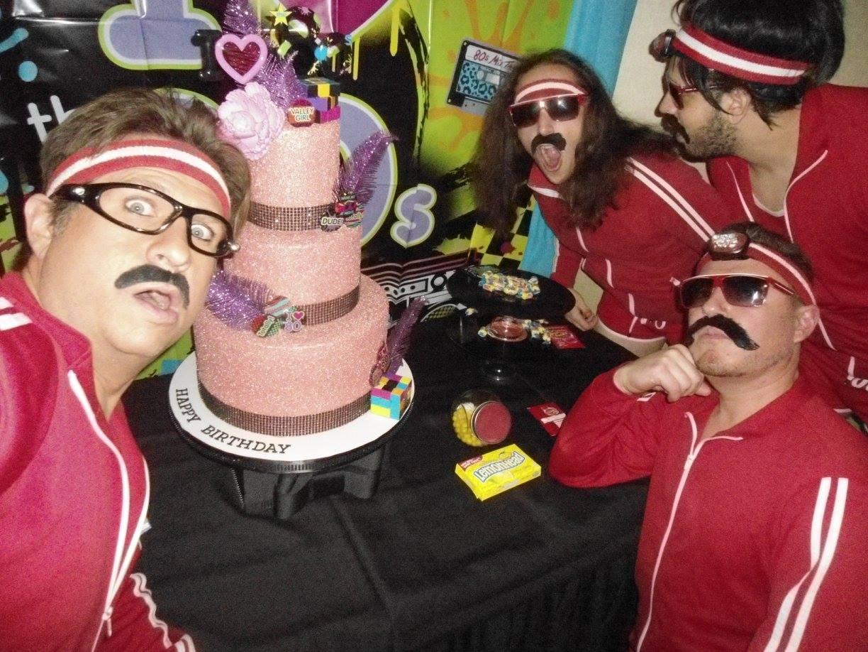 claremont 80s cover band birthday cake