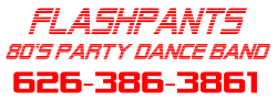FlashPants – Americas BEST 80s Party Dance Band